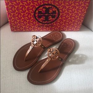 Tory Burch Mini Miller or Gabriel sandal